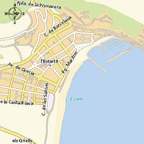 Ahoi estartit guia de puertos hafenf hrer guide du ports for Oficina de turismo de grecia